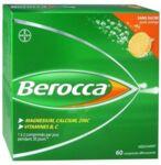 Berocca Comprimés effervescents sans sucre T/60 à GRENOBLE