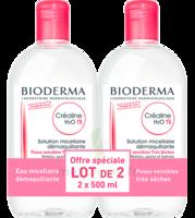 Crealine Ts H2o Solution Micellaire Sans Parfum Nettoyante Apaisante 2fl/500ml à GRENOBLE