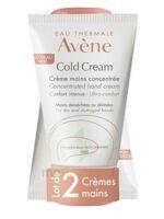 Avène Eau Thermale Cold Cream Duo Crème Mains 2x50ml à GRENOBLE