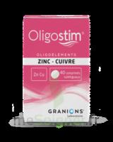 OLIGOSTIM Zinc Cuivre Cpr subl T/40 à GRENOBLE