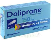 DOLIPRANE 150 mg Suppositoires 2Plq/5 (10) à GRENOBLE