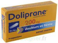 Doliprane 200 Mg Suppositoires 2plq/5 (10) à GRENOBLE