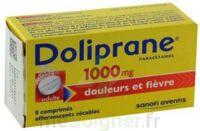 DOLIPRANE 1000 mg Comprimés effervescents sécables T/8 à GRENOBLE