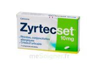 ZYRTECSET 10 mg, comprimé pelliculé sécable à GRENOBLE