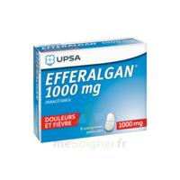 Efferalgan 1000 Mg Comprimés Pelliculés Plq/8 à GRENOBLE