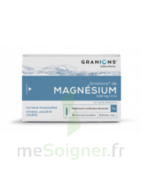 GRANIONS DE MAGNESIUM 3,82 mg/2 ml S buv 30Amp/2ml à GRENOBLE