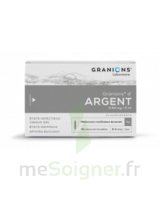 GRANIONS D'ARGENT 0,64 mg/2 ml S buv 30Amp/2ml à GRENOBLE