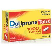 DOLIPRANETABS 1000 mg Comprimés pelliculés Plq/8 à GRENOBLE