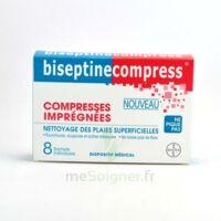 Biseptinecompress Compressses Impregnees, Bt 8 à GRENOBLE