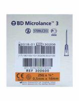 Bd Microlance 3, G25 5/8, 0,5 Mm X 16 Mm, Orange  à GRENOBLE