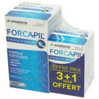 Forcapil Gélules croissance vitalité cheveux ongles B/180+60 à GRENOBLE