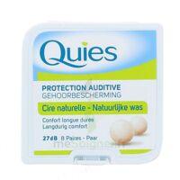 QUIES PROTECTION AUDITIVE CIRE NATURELLE 8 PAIRES à GRENOBLE