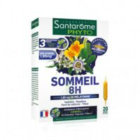 Santarome Bio Sommeil 8h Solution Buvable 20 Ampoules/10ml à GRENOBLE