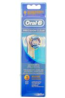 BROSSETTE DE RECHANGE ORAL-B PRECISION CLEAN x 3 à GRENOBLE