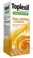 Toplexil 0,33 Mg/ml Sans Sucre Solution Buvable 150ml à GRENOBLE