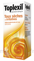 TOPLEXIL 0,33 mg/ml, sirop 150ml à GRENOBLE