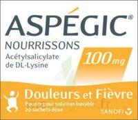 Aspegic Nourrissons 100 Mg, Poudre Pour Solution Buvable En Sachet-dose à GRENOBLE