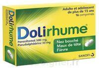DOLIRHUME PARACETAMOL ET PSEUDOEPHEDRINE 500 mg/30 mg, comprimé à GRENOBLE