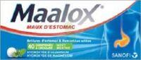 Maalox Hydroxyde D'aluminium/hydroxyde De Magnesium 400 Mg/400 Mg Cpr à Croquer Maux D'estomac Plq/40 à GRENOBLE
