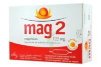 MAG 2 122 mg S buv en ampoule sans sucre édulcoré à la saccharine sodique 30Amp/10ml à GRENOBLE