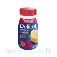 DELICAL BOISSON HP HC CONCENTREE Nutriment vanille 4Bouteilles/200ml à GRENOBLE