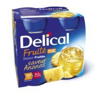 DELICAL BOISSON FRUITEE Nutriment ananas 4Bouteilles/200ml à GRENOBLE