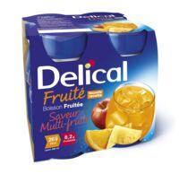 DELICAL BOISSON FRUITEE Nutriment multi fruits 4Bouteilles/200ml à GRENOBLE