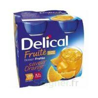 DELICAL BOISSON FRUITEE Nutriment orange 4Bouteilles/200ml à GRENOBLE