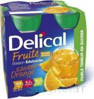 DELICAL BOISSON FRUITEE Nutriment édulcoré orange 4Bouteilles/200ml à GRENOBLE