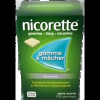Nicorette 2 Mg Gom à Mâcher Médic Sans Sucre Menthe Fraîche Plq/105gom à GRENOBLE