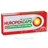 Nurofencaps 400 Mg Caps Molle Plq/10 à GRENOBLE