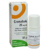 Cromabak 20 Mg/ml, Collyre En Solution à GRENOBLE