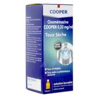 OXOMEMAZINE H3 SANTE 0,33 mg/ml SANS SUCRE, solution buvable édulcorée à l'acésulfame potassique à GRENOBLE