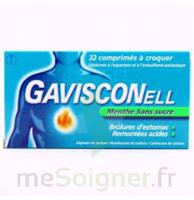 GAVISCONELL Coprimés à croquer sans sucre menthe édulcoré à l'aspartam et à l'acésulfame potas Plq/24 à GRENOBLE