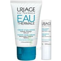 Uriage Eau Thermale Crème d'eau mains T/30ml+Stick lèvres à GRENOBLE