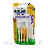Gum Trav - Ler, 1,3 Mm, Manche Jaune , Blister 4 à GRENOBLE