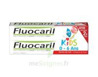 Fluocaril Kids Gel dentifrice Fraise 0/6ans 2*50ml à GRENOBLE