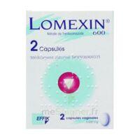 LOMEXIN 600 mg Caps molle vaginale Plq/2 à GRENOBLE