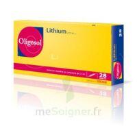 Oligosol Lithium Solution Buvable En Ampoule Ou En Récipient Unidose 28amp/2ml à GRENOBLE