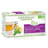 Herbesan Infusion Bio Tisane ventre plat 20 Sachets à GRENOBLE