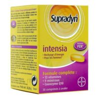 Supradyn Intensia Comprimés B/30 à GRENOBLE