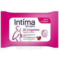 Intima Gyn'Expert Lingettes Cranberry Paquet/30 à GRENOBLE