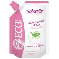 Saforelle Solution Soin Lavant Doux Eco-recharge/400ml à GRENOBLE