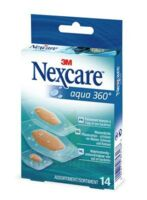 Nexcare Aqua 360° Pansements 3 Tailles B/14 à GRENOBLE
