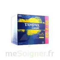 Tampax Compak - Tampon Régulier à GRENOBLE