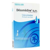DESOMEDINE 0,1 % Collyre sol 10Fl/0,6ml à GRENOBLE