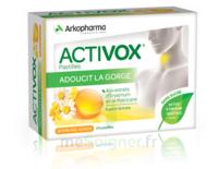 Activox Sans Sucre Pastilles Miel Citron B/24 à GRENOBLE