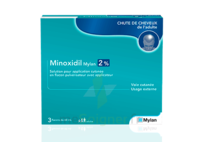 Minoxidil Mylan 2 %, Solution Pour Application Cutanée à GRENOBLE