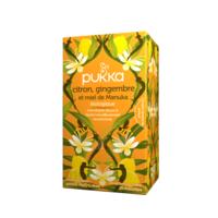 PUKKA BIO Citron, Gingembre et Miel de Manuka Tisane immunité Citron Gingembre Miel de Manuka 20 Sachets à GRENOBLE