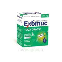 Exomuc 200 Mg, Granulés Pour Usage Oral En Sachet 15 Sachets/2g à GRENOBLE